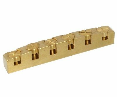 NEW ABM GERMANY 6210 Height Adjustable Bell Brass Nut for Gibson Style Guitars