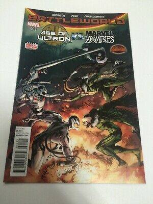 Battleworld Age Of Ultron vs Marvel Zombies #3 Marvel Comic Book Unread