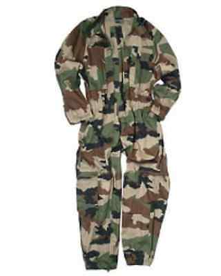 French Army Military CCE Woodland camouflage Tarnkombi KOMBI Overall L / Large
