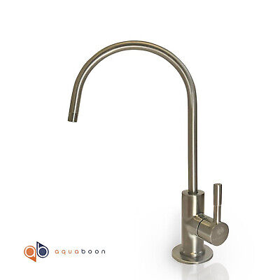 Brushed Nickel Euro Designer RO Water Faucet For Any RO Unit+FREE SHIPPING