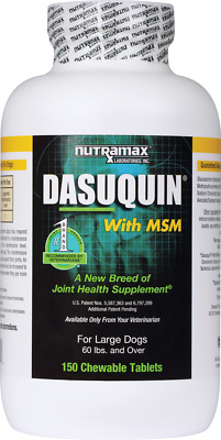 Nutramax Dasuquin 150 Chewable Tabs W/MSM Large Dogs Joint Health Exp. 02/2020
