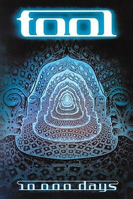 TOOL - 10,000 DAYS - MUSIC POSTER - 24x36 ROCK 49259