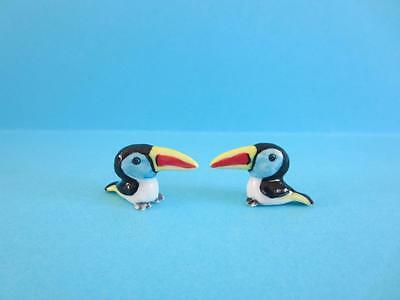 New Super Two Mini Baby Toucan, So Lovely Comes With Yellow Box *,mint*