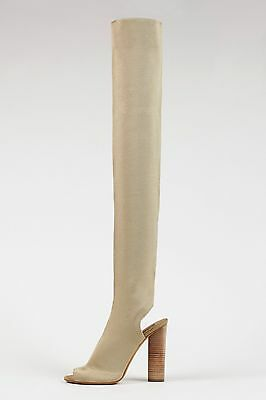 d276ae409b6 New YEEZY SEASON 2 GOLD HIGH KNIT BOOTS Kanye West EUR 35-40 Authentic 750