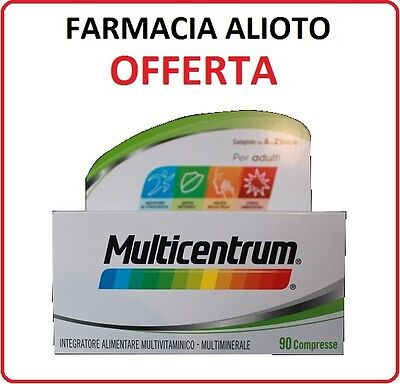 Multicentrum 90 Cpr.integratore Per Adulti!! >>Novita'<<-Promozione-Uomo E Donna