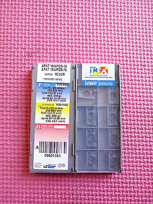 10pcs Iscar APKT 1604PDR-76 IC328 Carbide Insert new Free Shipping
