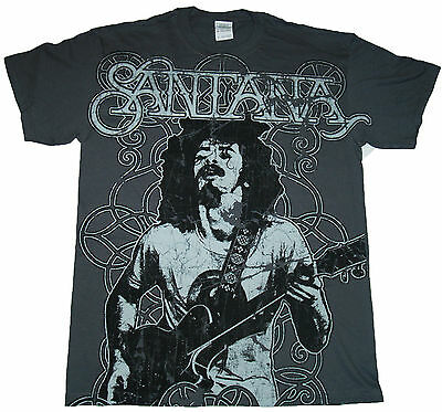 SANTANA - Holding Guitar - T SHIRT S-M-L-XL-2XL New Official Hi Fidelity Merch