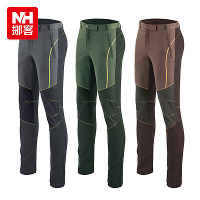 Mens Breathable Hiking Climbing Quick-drying Pants Mountaineering Trousers