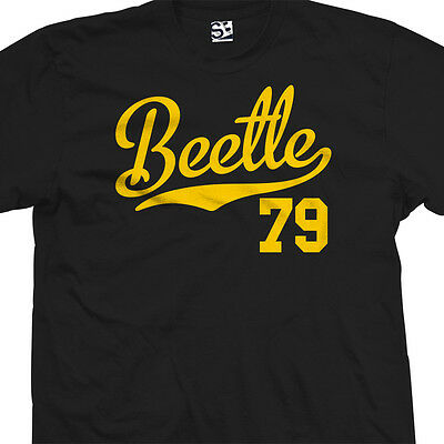 Beetle 79 Script Tail Shirt - 1979 Classic Volkswagen VW Bug - All Size & Colors