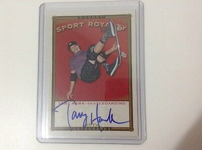 2105 UD Goodwin Champions Tony Hawk SRA-TH Sport Royalty Auto Goudey RARE!