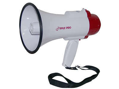 New Pyle PMP30 Professional Megaphone Bullhorn Speaker with Siren