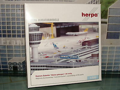Herpa Wings 500 Sky train accessories curved tracks 520140 **Free S&H**