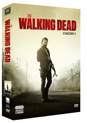 The Walking Dead - Stagione 5 (5 DVD) - ITALIANO ORIGINALE SIGILLATO -