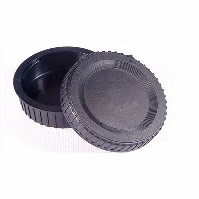 Camera Body Cap + Rear Lens Caps for Nikon F mount AI AF AF-S Lens Anti-dust UK