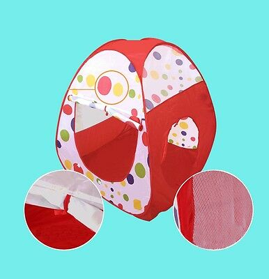 Indoor Baby Tunnel Outdoor Tent New 3 In 1 Toys Children Play House--Kids Play