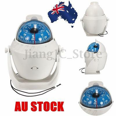 AU LED Light Sea Boat Marine Compass Electronic Digital Van Car Truck Navigation