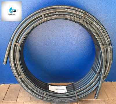 POLY PIPE (BLUELINE) Metric HIGH DENSITY PN12.5 40MM X 25MTR (Irrigation)