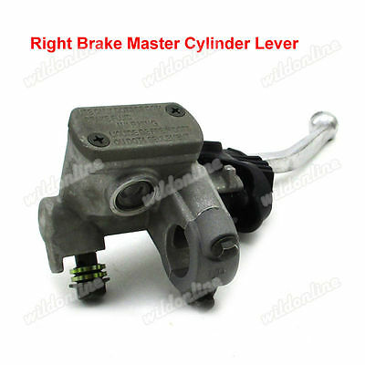 Right Brake Master Cylinder Lever For Honda CR125R CR250 CR500R Motocross Dirt
