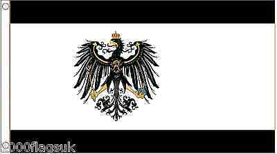 Prussia State 1892 to 1918 5'x3' Flag !