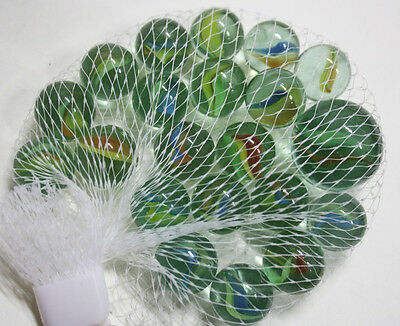 Very Rare Vintage 80's Greek Marbles Cats Eye Amazing Colors Greece New Nos!