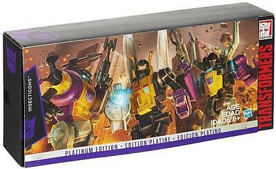 Transformers Platinum Edition Series INSECTICONS 3 Action Figure Pack UK Seller