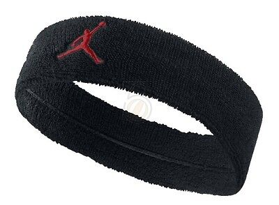 New Mens Nike Air Jordan Jumpman Black Basketball 3 4 Sweat Headband 567417 011