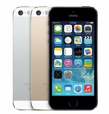 Apple iPhone 5s 16GB GSM Factory Unlocked - Space Gray Silver Gold
