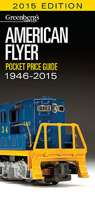 American Flyer Pocket Price Guide 1946-2015 Free Shipping