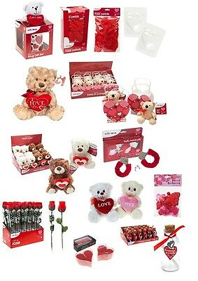 Valentines Day Romantic Gifts Ideas Her & His Love Heart Cute Bears Anniversary