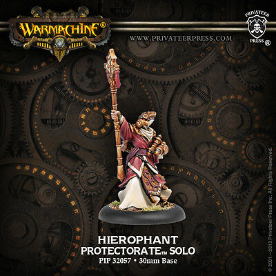Warmachine: Protectorate of Menoth Hierophant Solo PIP 32057