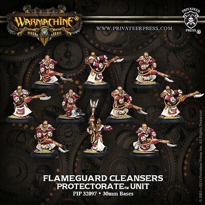Warmachine: Protectorate of Menoth Flameguard Cleansers Unit PIP 32097