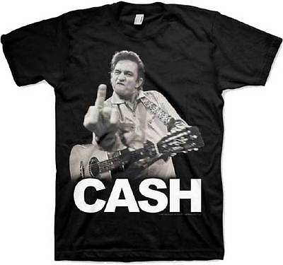 JOHNNY CASH - Cash Flippin T SHIRT S-M-L-XL-2XL New Official Hi Fidelity Merch