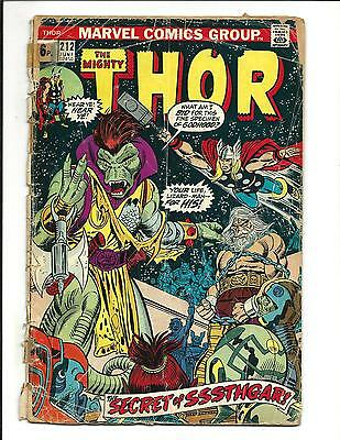 Thor # 212 (June 1973), Gd-