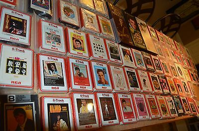 Elvis Presley 8 Track Collection!!! 29 Factory Sealed!!! 70 Total!!! Must See!!!