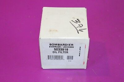 Bombardier Evinrude Johnson Oil Filter. Part 5033919.
