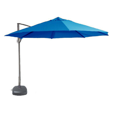 SHELTA SAVANNAH CANTILEVER UMBRELLA 3.5m Octagonal 98% UV - VARIOUS COLOURS