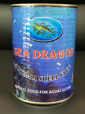 425g Non Hatching Decapsulated Brine Shrimp embryos Artemia Nauplii Alternative