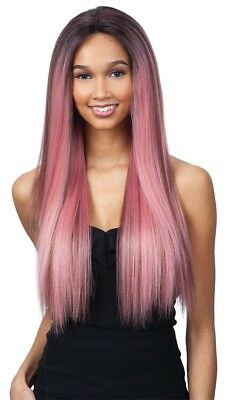 Evlyn - Freetress Equal Premium Delux Synthetic Lace Front Wig Long Straight