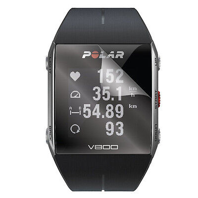 3x Clear LCD Screen Protector Cover Shield Film for Smart Sport Watch Polar V800