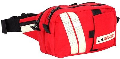 LA Rescue LA8710 EMS Side Mate Red EMT Response Fanny Pack 1 Each