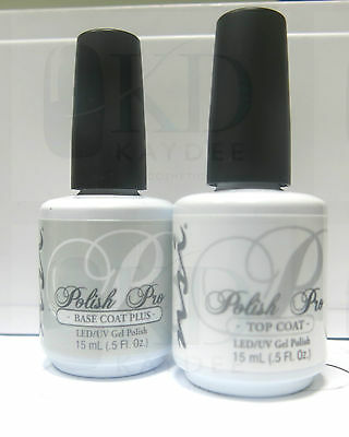NSI Polish Pro - TOP & BASE DUO - Special Offer £18.95 per set 2 x 15ml