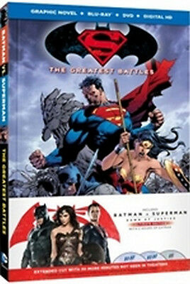 Batman v Superman - Dawn of Justice - Ultimate Edition (2 Blu-Ray Disc + Graphic