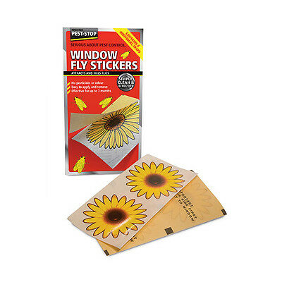 Window Fly Stickers - Pest Stop