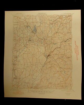 Kinderhook New York 1949 vintage USGS Topographical chart map