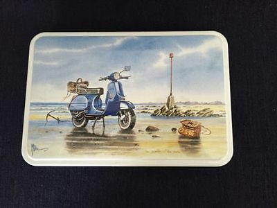 Massilly France Collectible Biscuit Tin