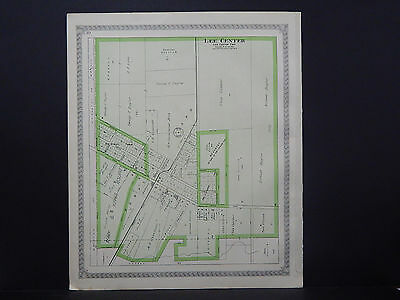 Illinois, Lee County Map, 1921 Lee Center O1#31