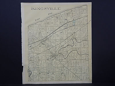 Ohio, Ashtabula County Map, 1905 Township of Kingsville #02