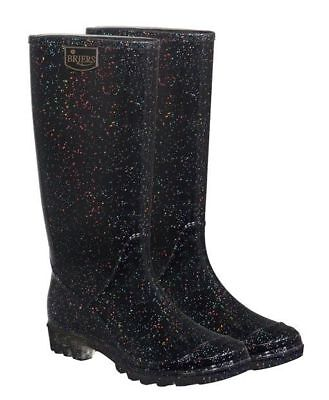 Briers Ladies Wellington Boots Stardust UK Size 5 Funky Wellies