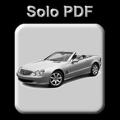 Mercedes Sl-Class (R230) - Service Information & Owner's Manual