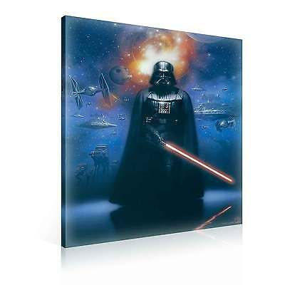 star wars darth vader xl leinwand bilder wandbild ppd712fw eur 1 00 picclick de. Black Bedroom Furniture Sets. Home Design Ideas